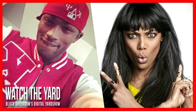 Must See! Nupe Hits Shimmy In Front Of Tyra Banks On ANTM And Makes Her Scream! [Kappa Alpha Psi]