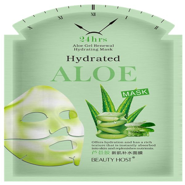 Skin Care Products Aloe Vera Gel Renewal Hydrating Face Mask Guangzhou Elov Cosmetic Company On