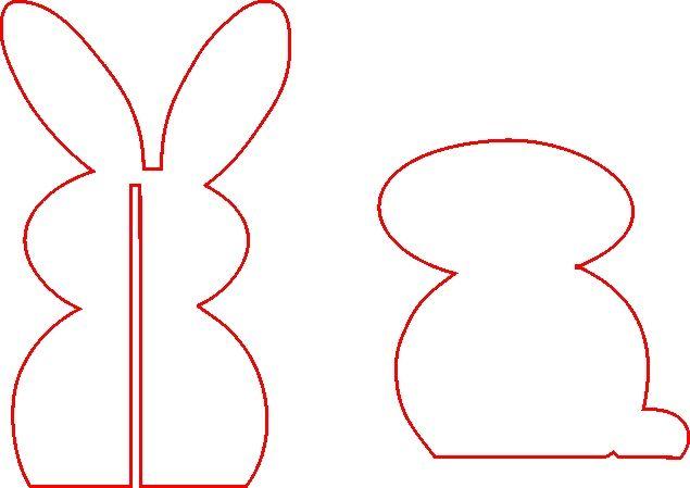 Conejo de Pascua en Foamy (1)