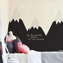 Naklejka ZAłóżkownik góry, pokój dziecka - naklejki ścienne