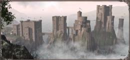 Pyke es la fortaleza ancestral de la Casa Greyjoy. Está localizada en la isla de Pyke, una de las Islas del Hierro. Es también el nombre de la isla en que la está asentada, además del apellido que se les da a los bastardos de las Islas del Hierro.