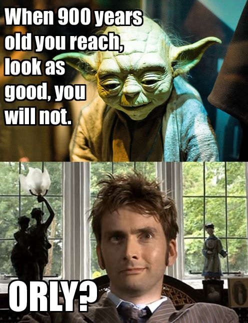 Bwahahahaha! Although when the master took away his regeneration, Yoda looked better.