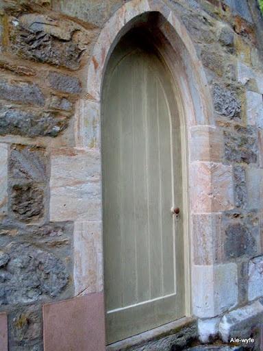 Rectory door