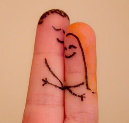 30 Cute Finger Drawings to Stay Away From Boredom