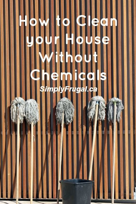 I kicked all our chemical cleaners to the curb a few years ago and never looked back.  The reason being, I realized that most of what I was cleaning didn't merit the use of harsh chemicals.  Why would I use a product that was more dangerous then the...