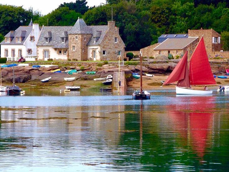 Ploumanach, Bretagne