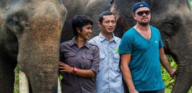 Indonésia ameaça deportar DiCaprio por ativismo ambiental
