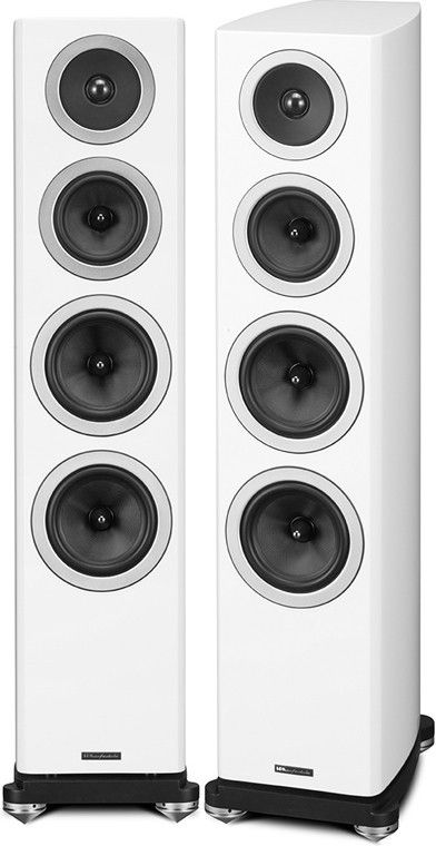 Wharfedale Reva-3 Tower Speakers Hear the Astonishing Differences Made by a Synergistic Array of Newly Developed Drivers, Crossovers, and Cabinets: Beautiful Wharfedale Reva-3 Tower Loudspeakers Also
