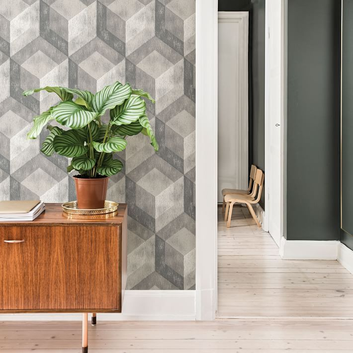 Bauhaus Distressed Wood Peel Stick Wallpaper Bauhaus Furniture How To Distress Wood Decor