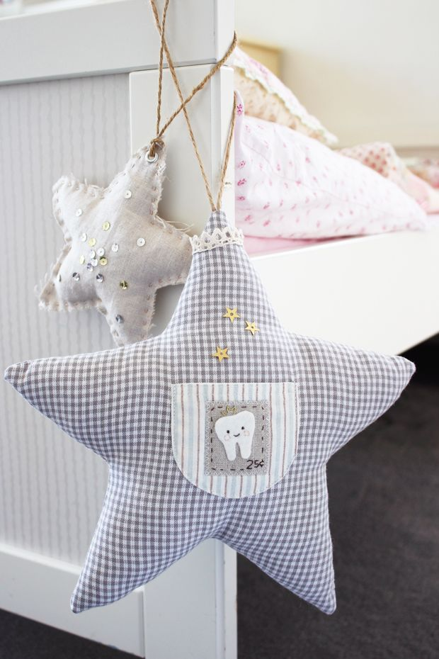 nana Company - Twinkle Star Tooth Fairy Pillow for Kids | eHow Crafts