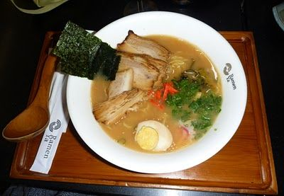 Ramen Ya - A giant bowl of ramen perfect for a freezing cold winter's day