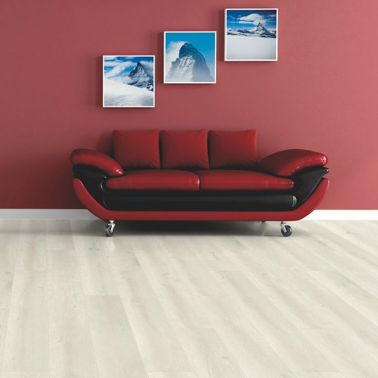 Barranco Cream Painted Wood Effect Laminate Flooring 213 M Pack