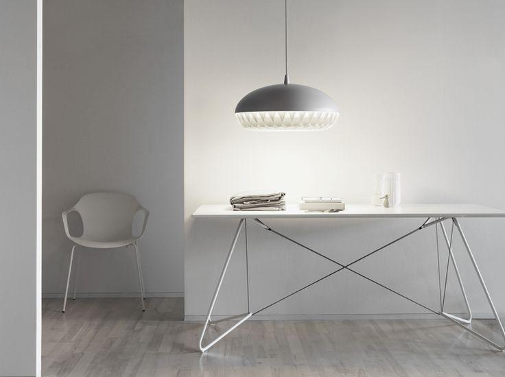 Aeon Rocket P3 designed by Morten Voss http://www.lightyears.dk/lamps/pendants/aeon-rocket-aeon-grey.aspx