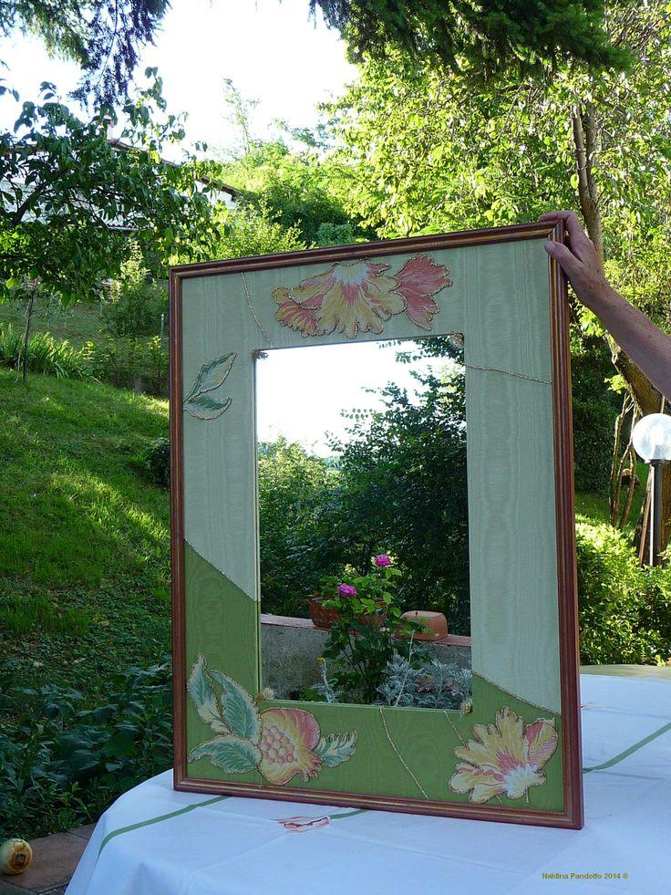 specchio con melograni in prospettiva 2