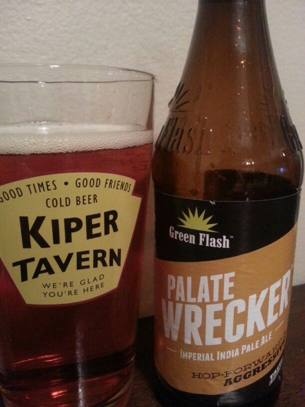 Green Flash Palate Wrecker Imperial IPA | Craft beers that ...