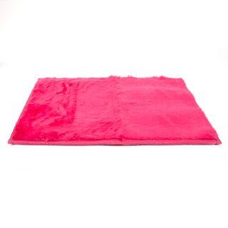LockerLookz™ Fuzzy Pink Locker Rug: 11.5 X 17 Inches