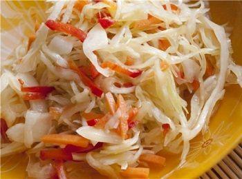 Рецепт маринованной молодой капусты