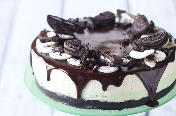 Nadiya Hussain's No-bake mint Oreo cheesecake recipe - goodtoknow