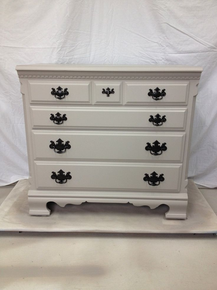 Perfect Greige Storage Cabinet/Filing Cabinet: McCormick Paint: SW7023. This Item  Has Been