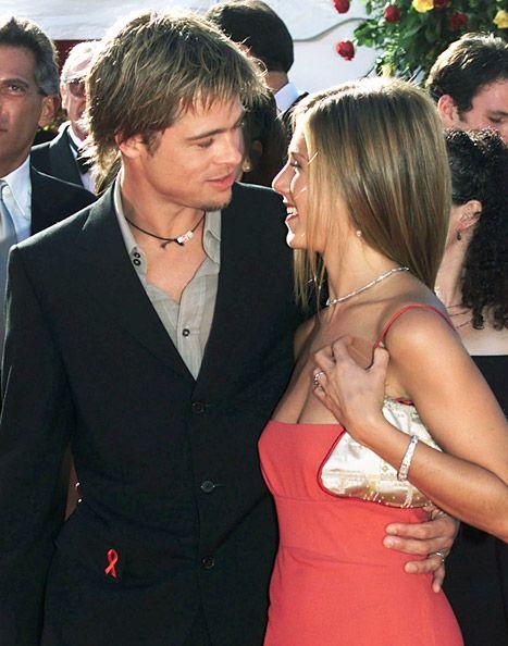 Brad Pitt and Jennifer Aniston    Team Jen forever!