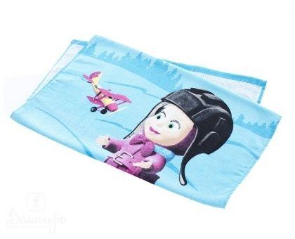 Купить полотенце детское с бордюром МАША И МЕДВЕДЬ от винта 50х90 от производителя Непоседа (Россия)