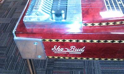 Sho Bud 12 String Pedal Steel Guitar The Pro II Vintage Custom   eBay