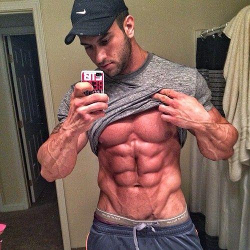 abs ripped best selfie pinterest abs mirror