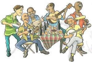 Le Pagode est un style brésilien de musique originaire de Salvador, au Brésil, et descendit rapidement dans la région de Rio de Janeiro, comme un sous-genre de la samba. Le Pagode signifiait à l'origine une fête avec beaucoup de nourriture, la musique,...