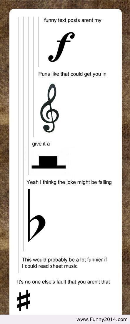 musical humor.