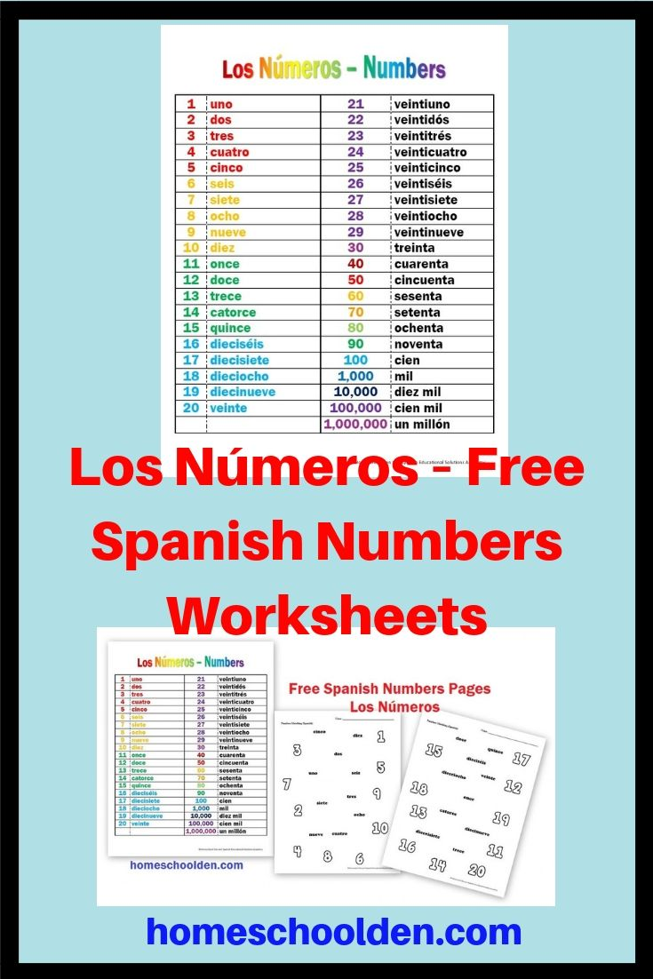 los n meros free spanish numbers worksheets these free worksheets has a number guide from 1 20. Black Bedroom Furniture Sets. Home Design Ideas
