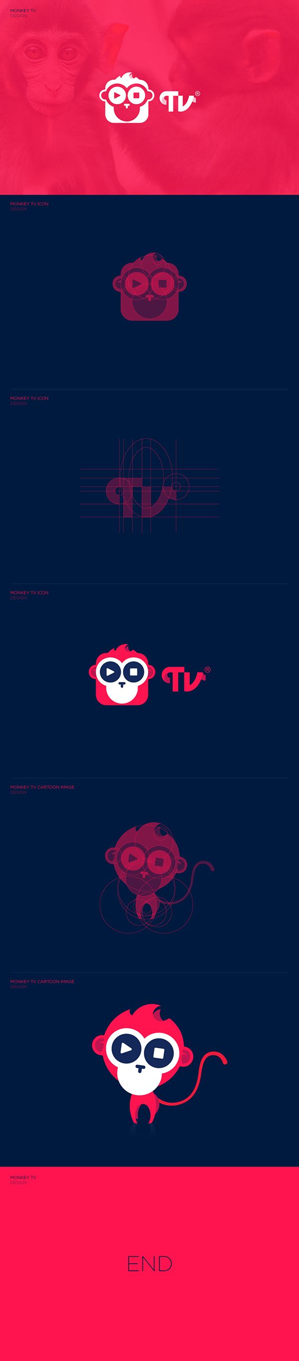 MONKEY TV on Behance