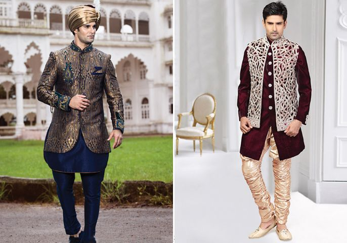 Fashion Fusion! #Groomwear #Weddingplz #Wedding #Bride #Groom #love #Fashion #IndianWedding #Beautiful #Style
