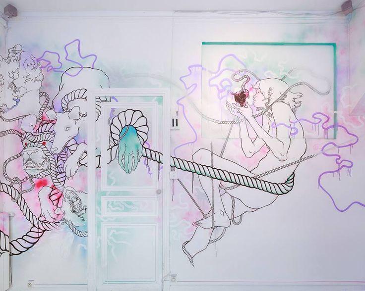 Aperçu du Cube, réalisé par l'artiste Marseillais Alexandre d'Alessio