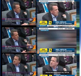 MSNBC Edit Deliberately Smears Gun Owners as Sandy Hook 'Hecklers'