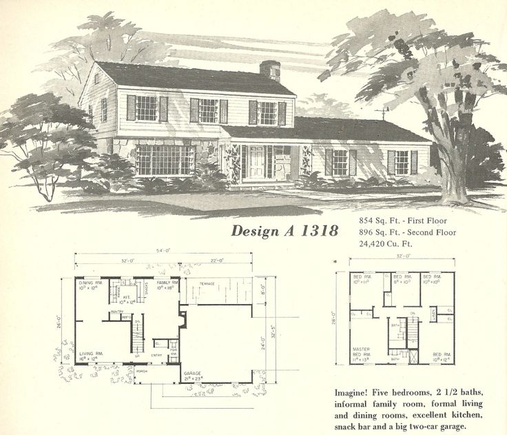 Vintage Farmhouse Plans 1034 best houseplans images on pinterest