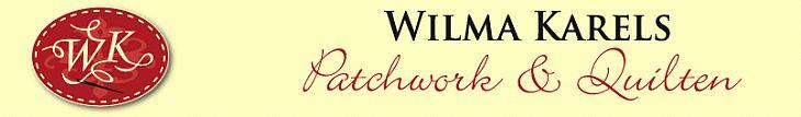Patchwork & Quilten - alles over quilten bij Wilma Karels!