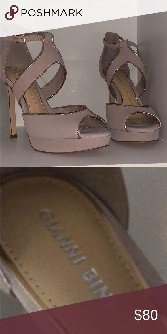 706476ff381 Gianni Bini heels Gianni Bini 4 in heels in dusty rose Gianni Bini Shoes  Heels
