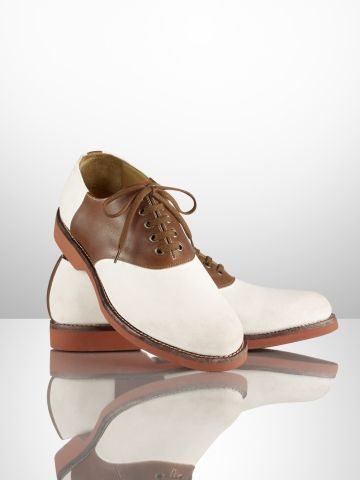 Walking in a Ralph Lauren Mens Saddle shoe would work for me!