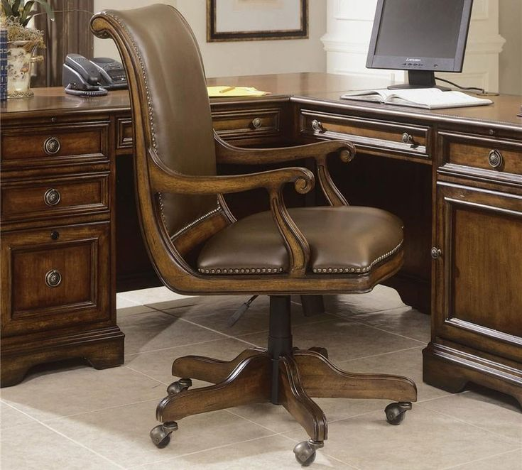 Give Your Office Chair A Promotion With Leather