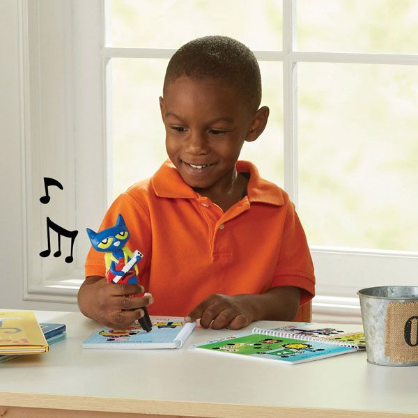 ROCKIN' FOR SCHOOL Hot Dots Jr. Pete the Cat Kindergarten Rocks! is going to get kids rockin' and schoolin'. Inspired by the beloved Pete the Cat children's book series, this set provides 200+ lessons on a variety of subjects such as reading, math, science, social studies and more. It includes two spiral-bound activity card sets, an all-new Pete the Cat–Your Groovin' Schoolin' Friend pen, reward stickers, and an award certificate for little learners who are ready to advance to the next…
