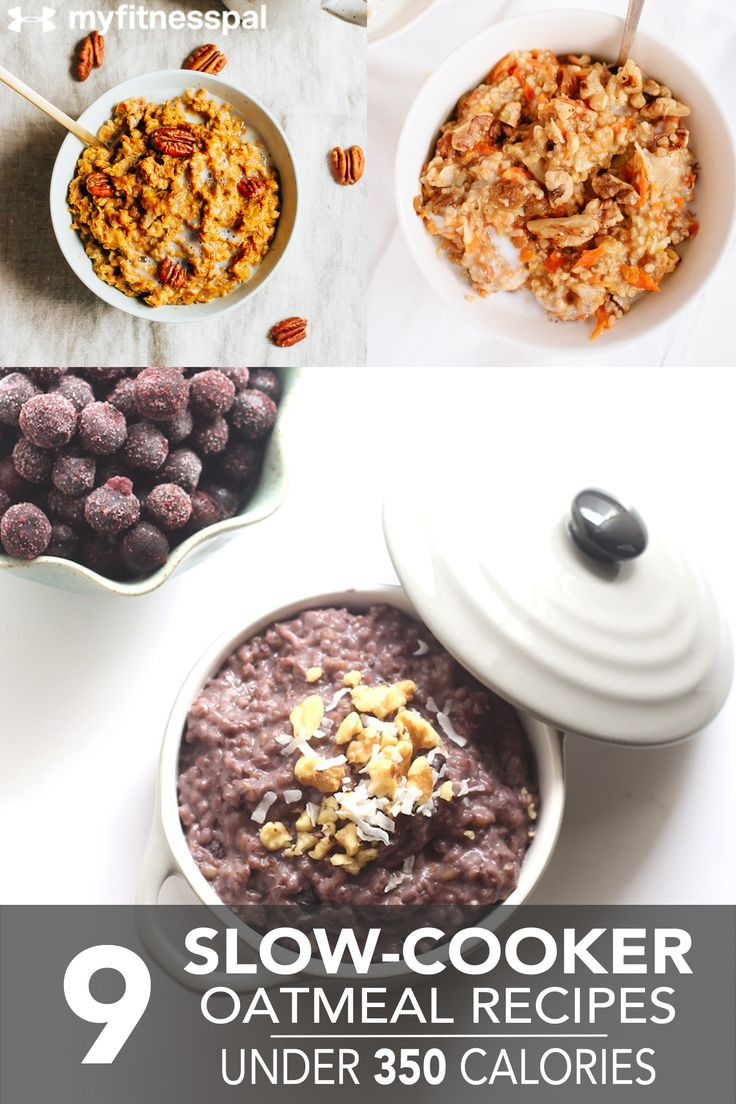 9 Slow-Cooker Oatmeal Recipes Under 350 Calories