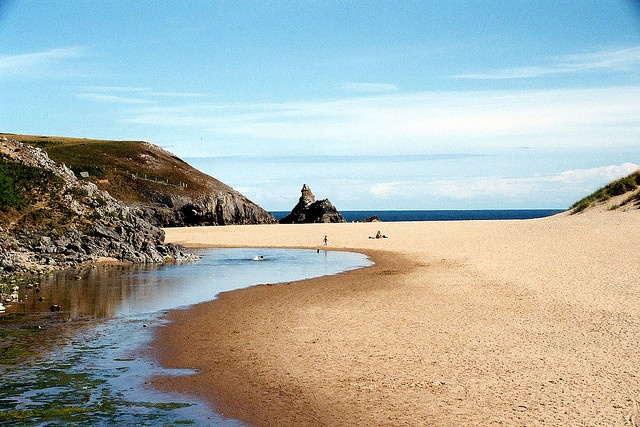 Broad Haven Beach, Pemrokeshire, South Wales