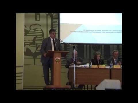 Выступление Первого проректора МАДИ П.И. Поспелова на конференции в МАДИ «Профессионально направленное обучение русскому языку иностранных граждан»