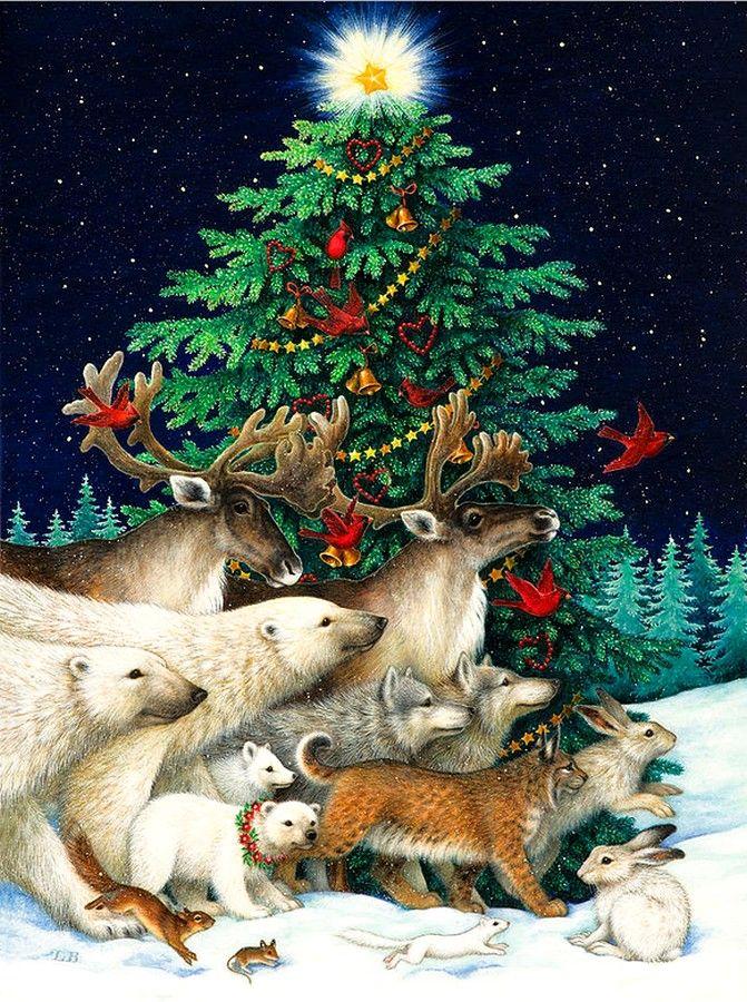 Lynn Bywaters   (b.1957) — Christmas Parade (671x900)
