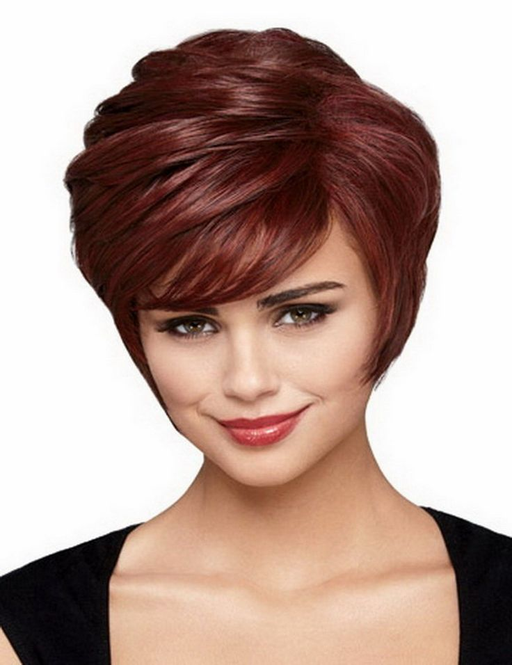 New Coming Synthetic Celebrity Party Hair Natural Wavy Wine Red Short Wig For Women African Americans Free Shipping