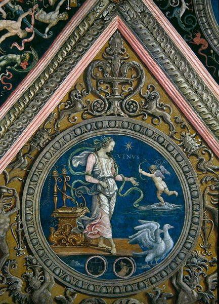 Venus, from the Sala dell'Udienza, 1496-1500 by Pietro Perugino