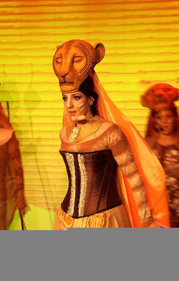Sarafina- Lion King Jr.   Costume Design- The Lion King in ...