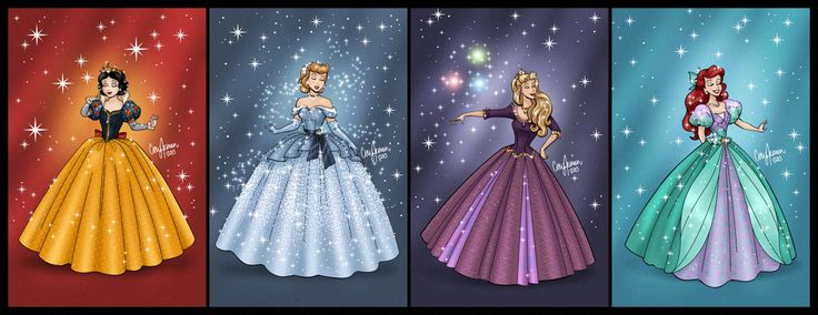 Disney Princess Gown Redesigns by Cor104 on deviantART