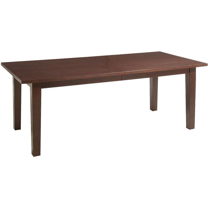 Torrance Extension Dining Table   Mahogany  699 95 Item  2644098. 17 Best images about Affordable dining tables on Pinterest