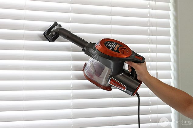 The Best Way To Clean All The Blinds In Your House - One Good Thing by Jillee